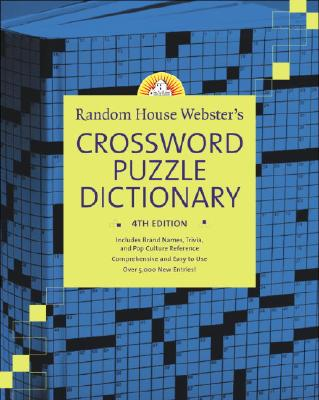 Random House Webster's Crossword Puzzle Dictionary By Elliott, Stephen P. (EDT)